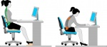 La chiropratique et l'ergonomie du poste de travail